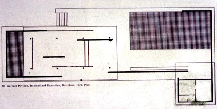 Mies Van Der Rohe German Pavilion Barcelonaexposition